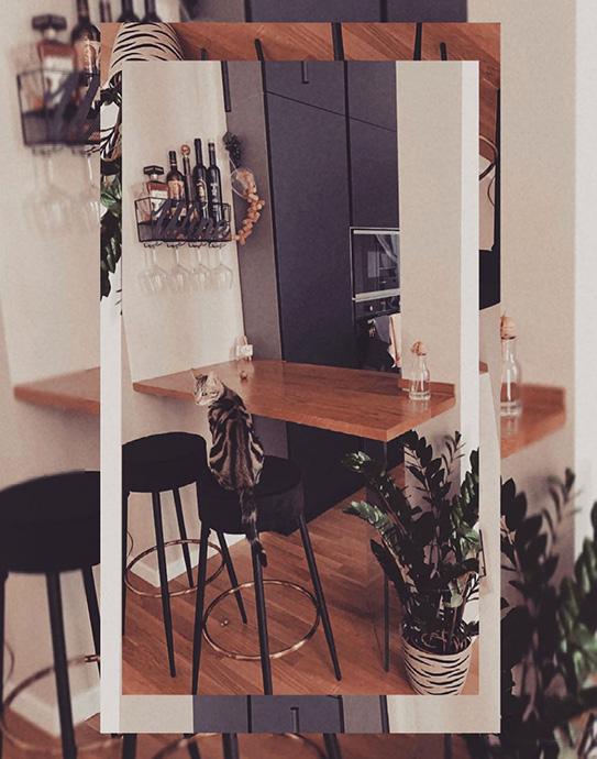 Lot de 2 tabourets de bar BELINIO - Velours & Métal - Gris