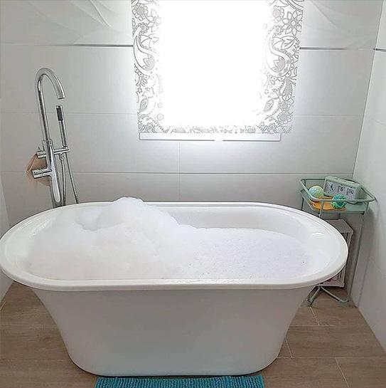 Bañera exenta de diseño NOEMIE - 150x75x58 cm